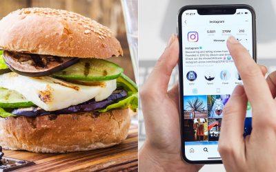 Pide tu comida por Instagram stories